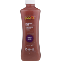 Photo of Boost Juice All Berry Bang 1lt