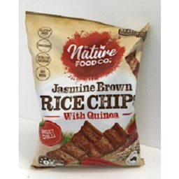 Photo of Nature Food Jasmine Brown Rice Chips with Quinoa - Sweet Chilli 150gm