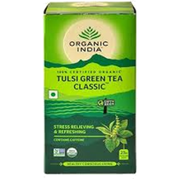 Photo of Organic India - Tulsi Green Classic - 25 Tea Bags