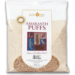 Photo of Good Morning Cereals Amaranth Puffs
