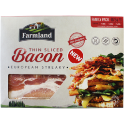 Photo of Farmland Streaky Bacon Family Pack 875gm