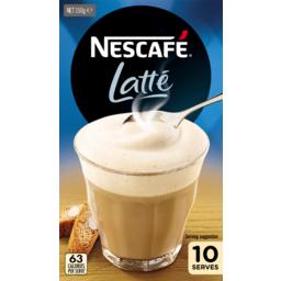 Photo of Nescafe Latte 10pk