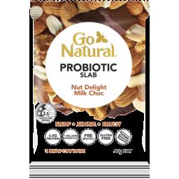 Photo of Go Natural Pro Biotic Slab Nut Delight Milk Choc 3 Bars