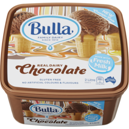 Photo of Bulla Ice Cream Chocolate 2l