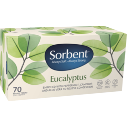 Photo of Sorbent Eucalyptus Facial Tissue 70