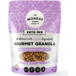 Photo of The Monday Food Co - Granola - Keto Peanut Butter Choc Chip - 300g
