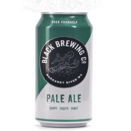 Photo of Black Brewing Pale Ale Can