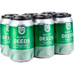 Photo of Quiet Deeds Double Time 6 Pack