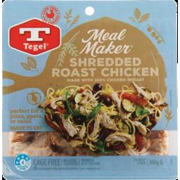 Photo of Tegel Meal Maker Roasted Shredded Chicken 300g