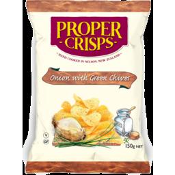 Photo of Proper Crisp Onion Grn Chil 150g