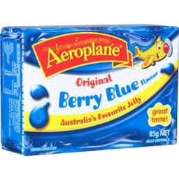 Photo of Aeroplane Jelly Crystals Berry Blue (85g)