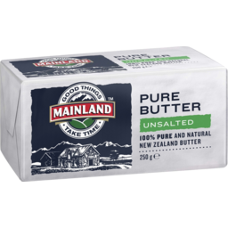 Photo of Mainland Butter Sea Unsalted 250gm