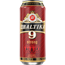 Photo of Beer Baltika 9 Can 8% 330ml