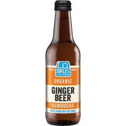 Photo of Lo Bros Living Soda Ginger Beer 330ml