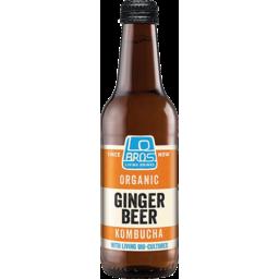 Photo of Lo Bros G/Beer Kombucha Soda 330ml