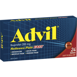 Photo of Advil Pain Relief Tablets 200mg 24