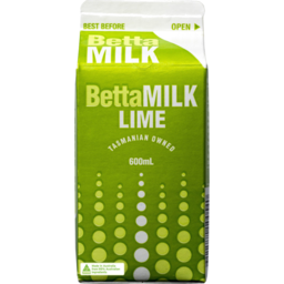 Photo of Betta Milk Lime Carton 600ml