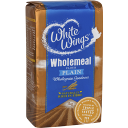 Photo of White Wings Wholemeal Flour Plain 1kg