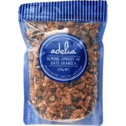 Photo of Adelia Fine Foods Almond, Apricot & Date Granola 650g