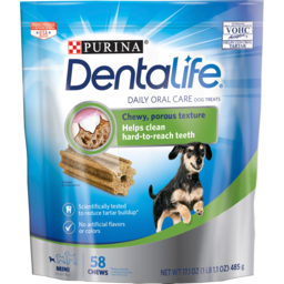 Photo of Purina Dentalife Mini Daily Oral Care 5-20lbs 58 Pack 485g