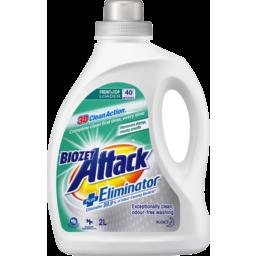 Photo of Bio Zet Attack 3d Clean Action Plus Eliminator Front & Top Loader Laundry Liquid 2l