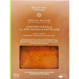 Photo of Beyond India Home Dining Chicken Masala With Ripe Mango & Kaffir Lime 350g