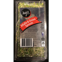 Photo of Alfalfa & Onion Sprouts 125g