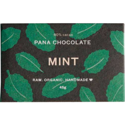 Photo of Pana Raw Cacao & Mint Choc 45g