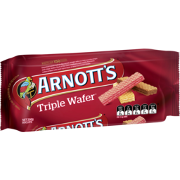 Photo of Arnotts Triple Wafer Biscuits 200gm