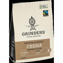 Photo of Grinders Coffee Master Roasters Crema 200g