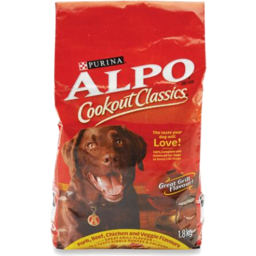 Photo of Purina Alpo Prime Cuts Savory Beef Flavor Adult Dry Dog Food - 4 Lb. Bag