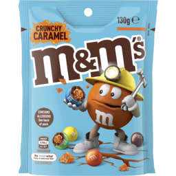 Photo of M&Ms Crunchy Caramel 130gm