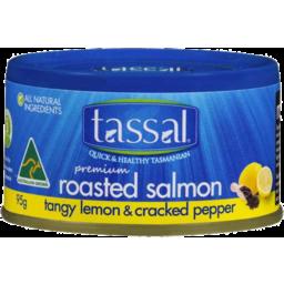 Photo of Tassal Premium Tasmanian Salmon Tangy Lemon & Cracked Pepper 95gm