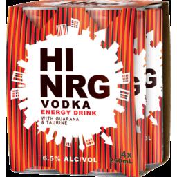 Photo of Hi Nrg Vodka Energy Can
