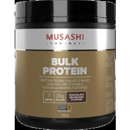 Photo of Musashi Bulk Protein Chocolate Milkshake 420g