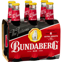 Photo of Bundaberg Red Rum & Cola Stubbies