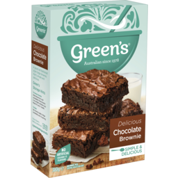 Photo of Greens Brownie Choc 380gm