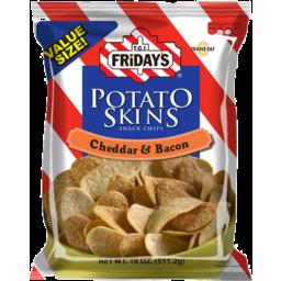 Photo of Tgi Friday's Potato Skins Cheddar & Bacon