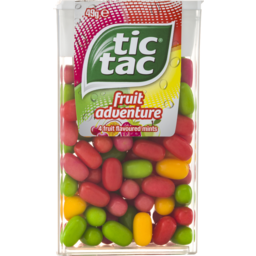 Photo of Tic Tac Fruit Adventure 49g