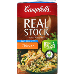 Photo of Campbell's Real Stock Chicken Salt Reduced 1l 1l