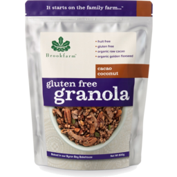 Photo of Brookfarm Gluten Free Granola Cacao Coconut 350gm