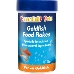 Photo of Essentially Pets Goldfish Food Flakes For All Goldfish 20g