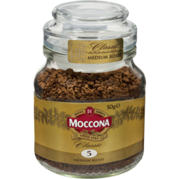 Photo of Moccona Classic Medium Roast Instant Coffee 50g