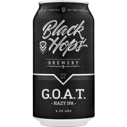 Photo of Black Hops G.O.A.T. Hazy Ipa Can