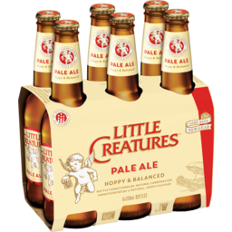 Photo of Little Creatures Pale Ale Bottles