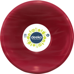 Photo of Deeko Plastic Bowls 20 Pack
