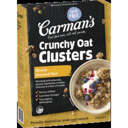 Photo of Carmans Crunchy Cluster Honey Roasted Nut 500g