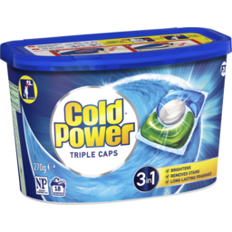 Photo of Cold Power Laundry Triple Capsules 3in1, 18 Pack 270g