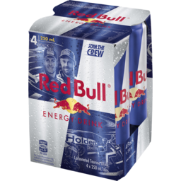 Photo of Red Bull 4x250ml