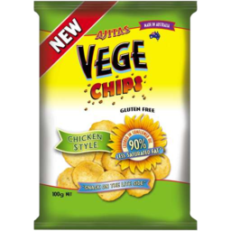 Photo of Vege Chips Chicken Style 100g 'Available In The Health Food Aisle'